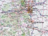 Colorado Detailed Road Map 34 Colorado Highway Map Maps Directions