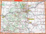 Colorado Detailed Road Map Colorado Highway Map Awesome Colorado County Map with Roads Fresh