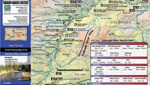 Colorado Dow Gmu Map Colorado Fishing Map Bundle Fishing Maps Fly Fishing Maps