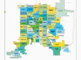 Colorado Flooding Map Denver Neighborhood Map L Find Your Way Around Denver L Neighborhood