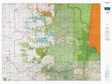 Colorado Game Unit Map or 16 Santiam S Map Mytopo