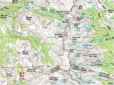 Colorado Geological Map isolation Peak Colorado topographic Map Click for Larger Image