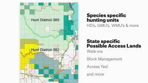 Colorado Interactive Hunting Map Amazon Com Colorado Hunting Maps Onx Hunt Chip for Garmin Gps