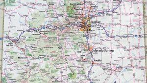 Colorado Kansas Map Kansas Highway Map Luxury Colorado County Map with Roads Fresh