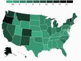 Colorado Marijuana Map where Americans Smoke Marijuana the Most American Life Cannabis