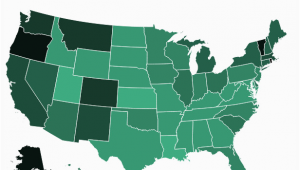 Colorado Marijuana Map where Americans Smoke Marijuana the Most American Life Cannabis