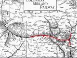Colorado Midland Railroad Map Historic Railway Map Stock Photos Historic Railway Map Stock