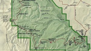 Colorado National Monument Map United States National Parks and Monuments Maps Perry Castaa Eda