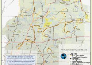Colorado Ohv Trail Maps Nw Wisconsin atv Snowmobile Corridor Map 4 Wheeling Pinterest