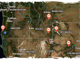 Colorado Public Hunting Land Map Project Land Of the Free Born and Raised Outdoors