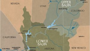 Colorado River Aqueduct Map the Disappearing Colorado River the New Yorker