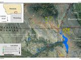 Colorado School Of Mines Map Map Showing the Location Of the Pryor Mountain and the Little
