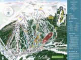 Colorado Ski area Map Copper Winter Trail Map