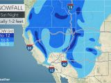 Colorado Snow Pack Map Round Of Heavy Rain Fresh Snow for the West