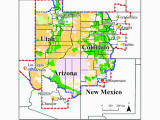 Colorado Springs City Limits Map Map Of the Colorado Plateau Region with State and County Borders