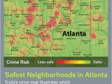 Colorado Springs Police Blotter Map the Safest Neighborhoods In atlanta