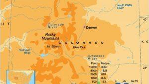 Colorado Springs topographic Map Rocky Mountain Elevation Map 29 Cool Colorado Springs Elevation Map