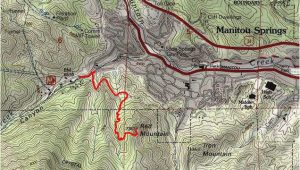 Colorado Springs Trail Map Red Mountain Hiking Pinterest Hiking Mountains and Mountain