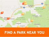 Colorado State Park Map State Parks