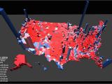 Colorado Turkey Population Map Election Results In the Third Dimension Metrocosm