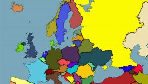 Colour Map Of Europe 53 Strict Map Europe No Names
