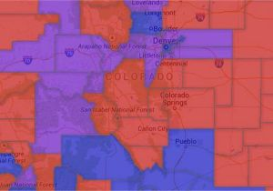 Columbine Colorado Map Map Colorado Voter Party Affiliation by County