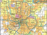 Columbus Ohio Road Map Columbus Ohio Zip Code Map Firm Maps the Ghost Map