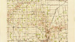 Columbus Ohio Street Map Ohio Historical topographic Maps Perry Castaa Eda Map Collection