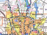 Columbus Ohio Suburbs Map Columbus Ohio City Map Www tollebild Com