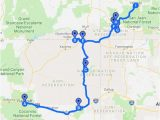 Como Colorado Map Four Corners Drive southwest Google My Maps