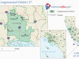 Compton California Map File United States House Of Representatives California District 37