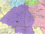 Congressional District Map Georgia Map Georgia S Congressional Districts