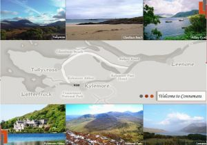 Connemara Ireland Map Snippet Of What is to Be Found In Connemara On the