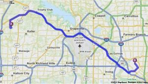 Coppell Texas Map Driving Directions From 4953 Ambrosia Dr fort Worth Texas 76244 to