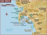 Coronado California Map Map Of San Diego