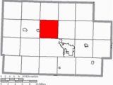 Coshocton County Ohio Map Bethlehem township Coshocton County Ohio Wikivisually
