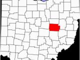 Coshocton County Ohio Map Coshocton County Wikipedia