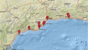 Costa Del sol Spain Map where to Stay In the Costa Del sol Best Cities Hotels with