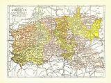 County Limerick Ireland Map Ireland County Of Limerick Map C1903 Irish History Antique 8×11 Historical Ephemera Vintage European Wall Decor Art Print