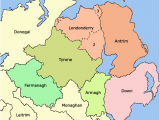 County Map Of northern Ireland Counties Of northern Ireland Wikipedia