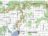 Crawford County Michigan Map Missaukee Trail Blazers Trail Maps