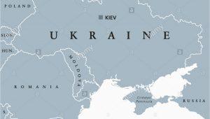 Crimean Peninsula Europe Map Eastern Europe Map Stock Photos Eastern Europe Map Stock