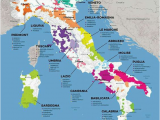 Croatia and Italy Map Vinos Italia Wine Wine Italian Wine Wine Folly