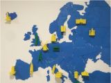Croatia In Europe Map Europe Map Puzzle by Utechlab Thingiverse