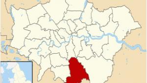 Croydon England Map Croydon Wikimili the Free Encyclopedia