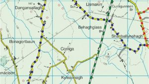 Darby England Map No 5 Couraguneen to Clonakenny Heritage Walk Blue