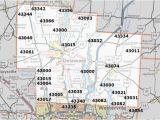 Dayton Ohio Zip Codes Map Hamilton County Ohio Zip Code Map Secretmuseum