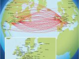 Delta Europe Route Map Delta Airlines Destination Map Related Keywords