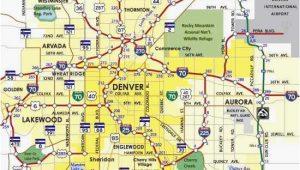 Denver Colorado Light Rail Map Denver Metro Map Unique Denver County Map Beautiful City Map Denver