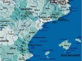 Detail Map Of Spain Detailed Map Of East Coast Of Spain Twitterleesclub